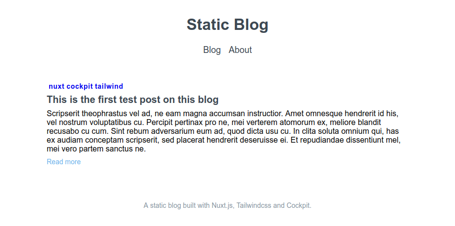 satic-blog-layout